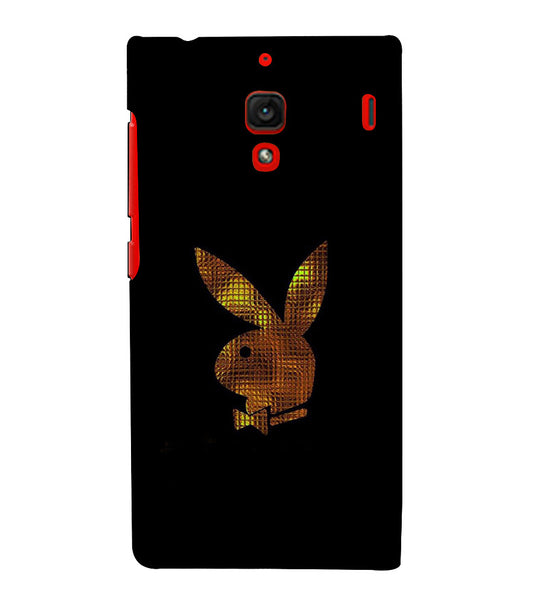EPICCASE Gold Play Boy Back Case Cover for Xiaomi Redmi 1s