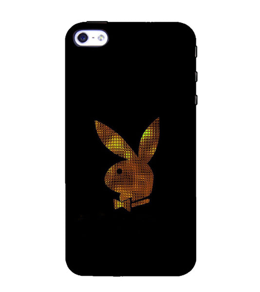 EPICCASE Gold Play Boy Back Case Cover for Apple iPhone 5/5s