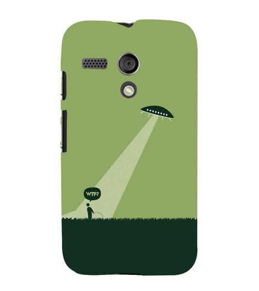 EPICCASE UFO  Back Case Cover for Moto G
