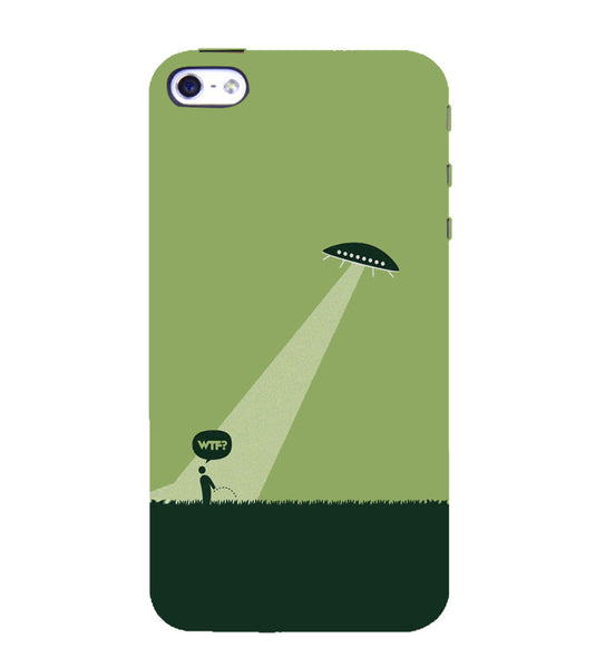 EPICCASE UFO  Back Case Cover for Apple iPhone 4