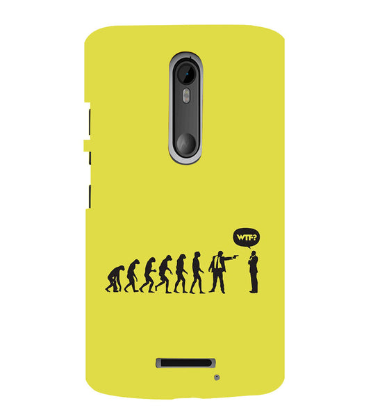 EPICCASE evolution collapse Back Case Cover for Moto X3