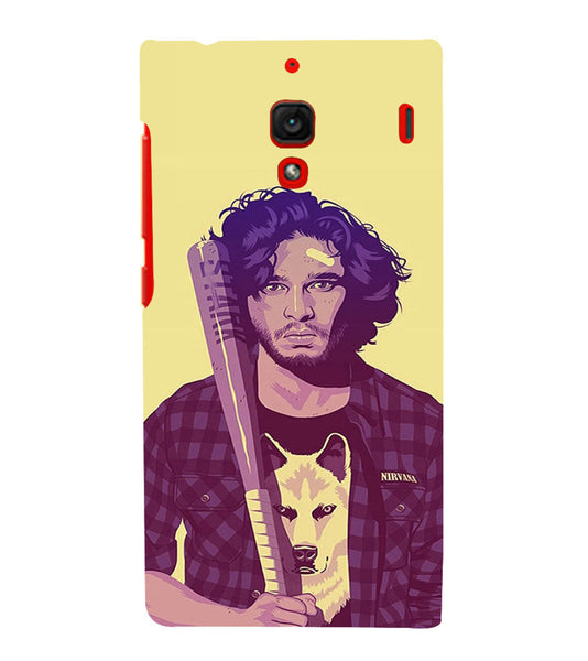 EPICCASE Jon snow Back Case Cover for Xiaomi Redmi 1s
