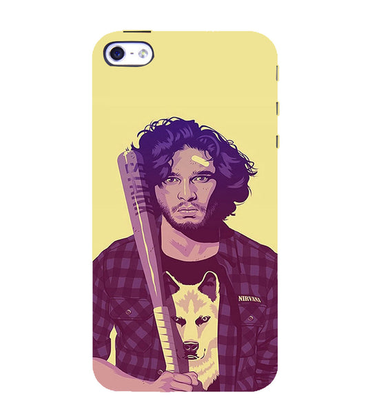 EPICCASE Jon snow Back Case Cover for Apple iPhone 5/5s