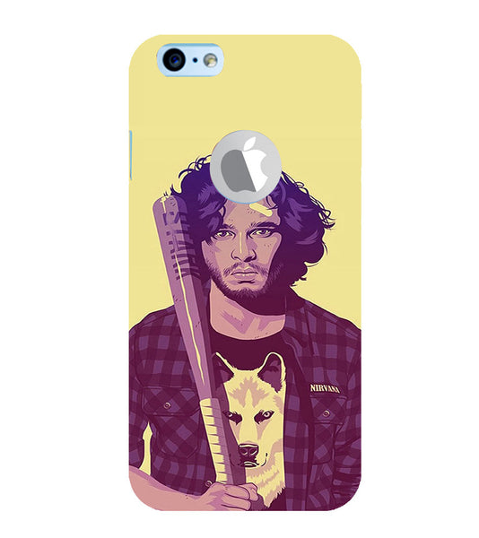 EPICCASE Jon snow Back Case Cover for Apple iPhone 6/6s