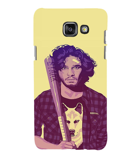 EPICCASE Jon snow Back Case Cover for Samsung A5 2016