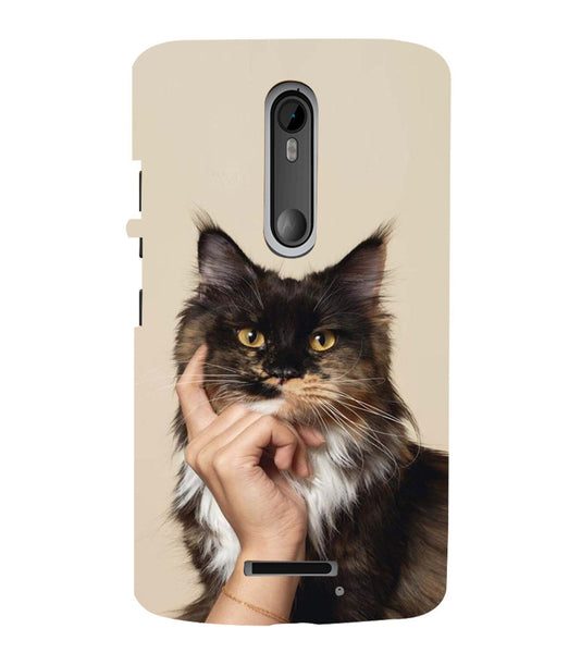 EPICCASE cat case Back Case Cover for Moto X3