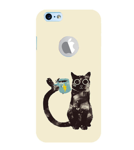 EPICCASE cat with cup Back Case Cover for Apple iPhone 6/6s