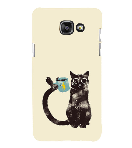 EPICCASE cat with cup Back Case Cover for Samsung A5 2016