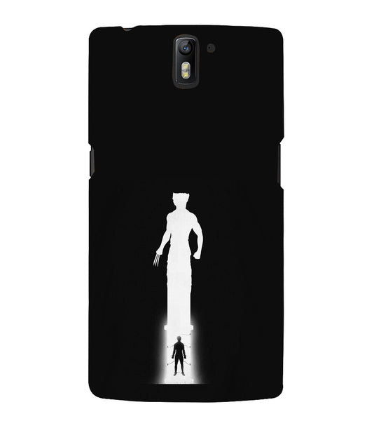EPICCASE Wolverine trouble Back Case Cover for Oneplus One