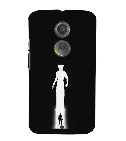 EPICCASE Wolverine trouble Back Case Cover for Moto X2