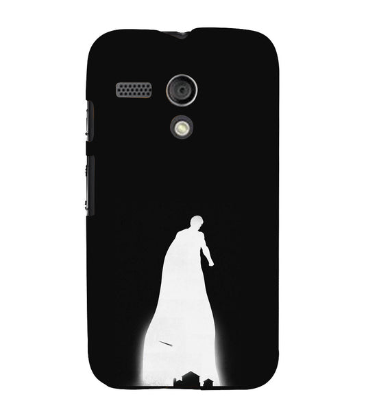 EPICCASE superman cases Back Case Cover for Moto G