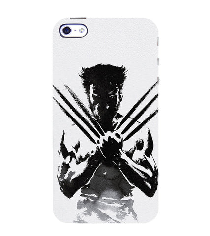 EPICCASE Wolverine  Back Case Cover for Apple iPhone 5/5s