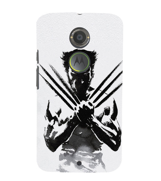 EPICCASE Wolverine  Back Case Cover for Moto X2