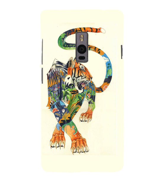 EPICCASE art tiger Back Case Cover for Oneplus Two