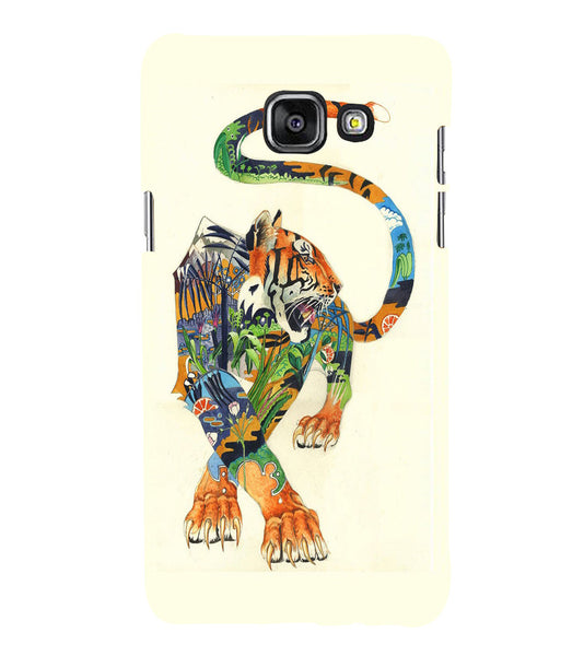 EPICCASE art tiger Back Case Cover for Samsung A5 2016