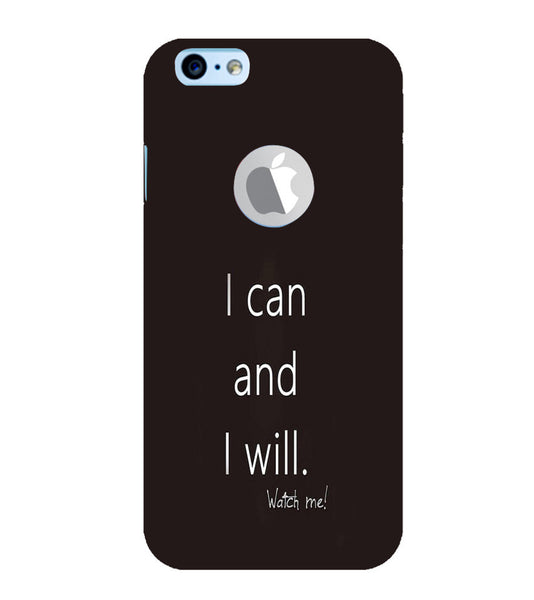 EPICCASE I can and I will Back Case Cover for Apple iPhone 6plus/6splus