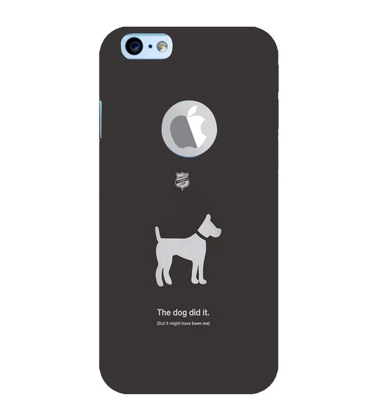 EPICCASE The Dog did It Back Case Cover for Apple iPhone 6plus/6splus