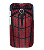 EPICCASE Spider Web Back Case Cover for Moto E
