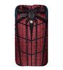 EPICCASE Spider Web Back Case Cover for Moto G