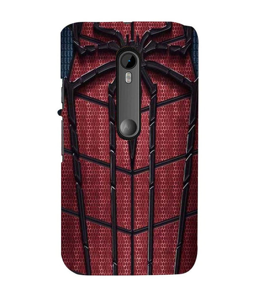 EPICCASE Spider Web Back Case Cover for Moto X Play