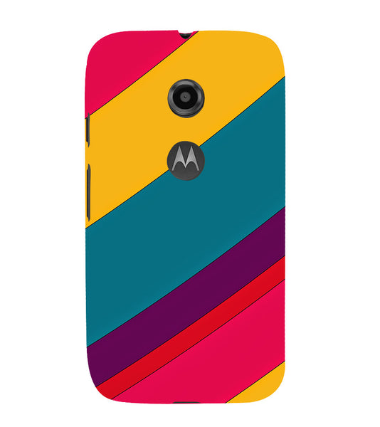 EPICCASE colors Back Case Cover for Moto E2
