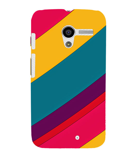 EPICCASE colors Back Case Cover for Moto X