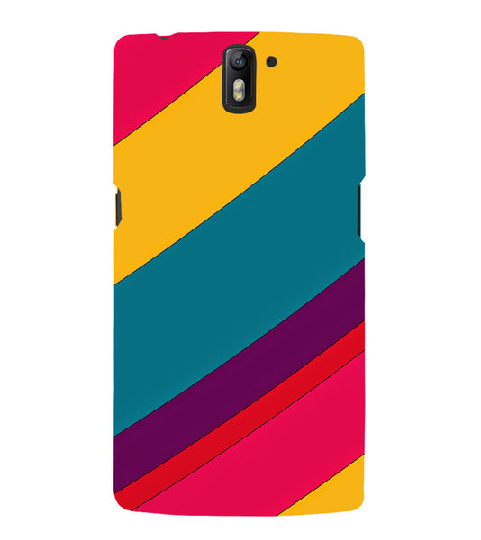 EPICCASE colors Back Case Cover for Oneplus One