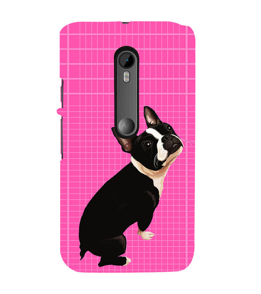 EPICCASE sad puppy Back Case Cover for Moto X Force