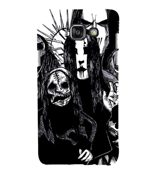 EPICCASE the ghost Back Case Cover for Samsung A5 2016