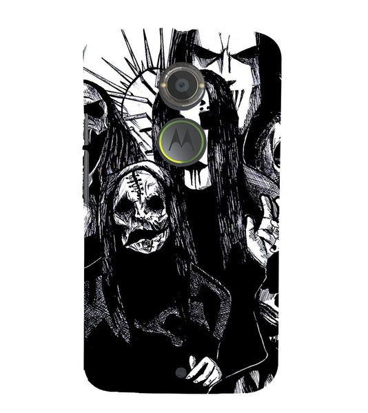 EPICCASE the ghost Back Case Cover for Moto X2