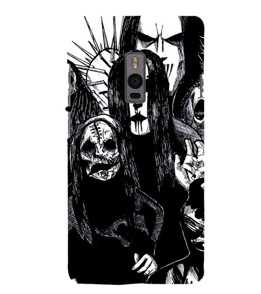 EPICCASE the ghost Back Case Cover for Oneplus Two