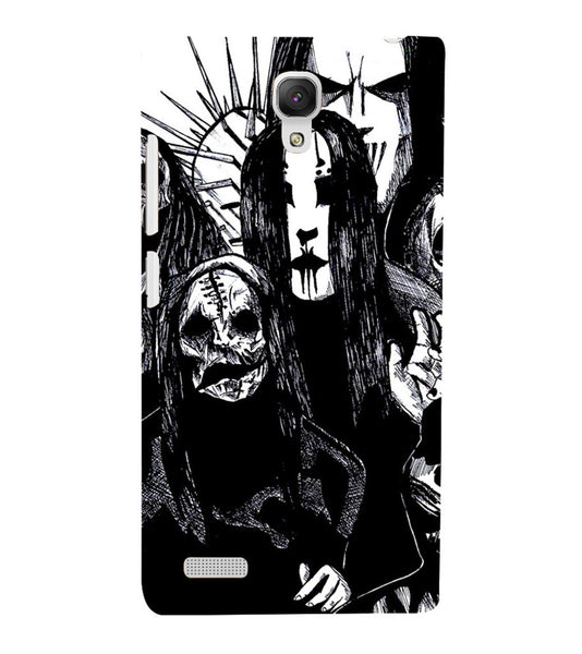 EPICCASE the ghost Back Case Cover for Xiaomi Redmi Note