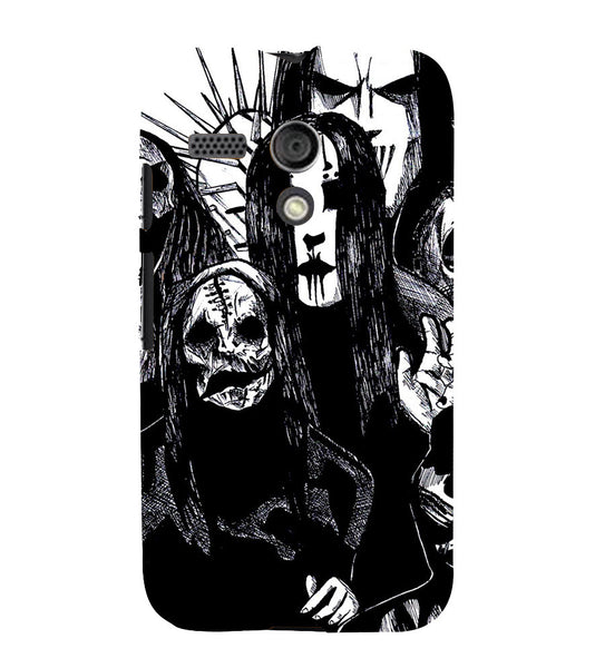 EPICCASE the ghost Back Case Cover for Moto G