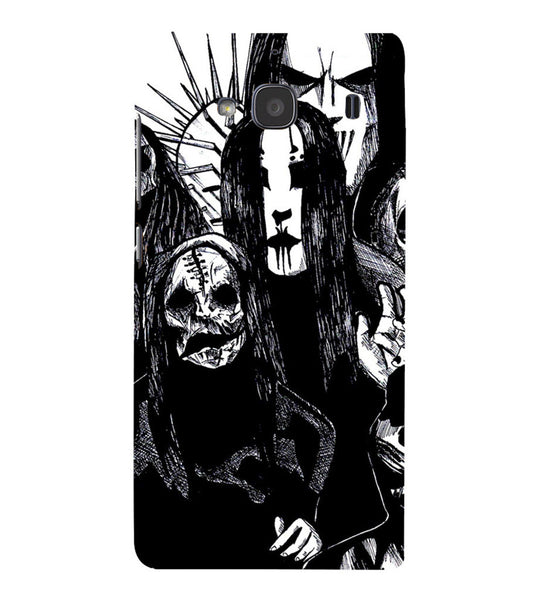 EPICCASE the ghost Back Case Cover for Xiaomi Redmi 2s