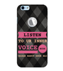 EPICCASE listen to your inner voice Back Case Cover for Apple iPhone 6/6s