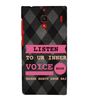 EPICCASE listen to your inner voice Back Case Cover for Xiaomi Redmi 1s