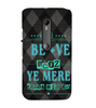 EPICCASE b+ positive Back Case Cover for Moto X Force