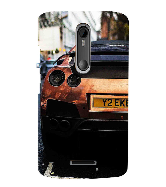 EPICCASE the beast Back Case Cover for Moto X3