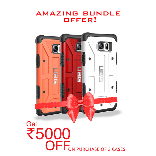 UAG for Samsung Galaxy Note 5 - Orange, Red and White