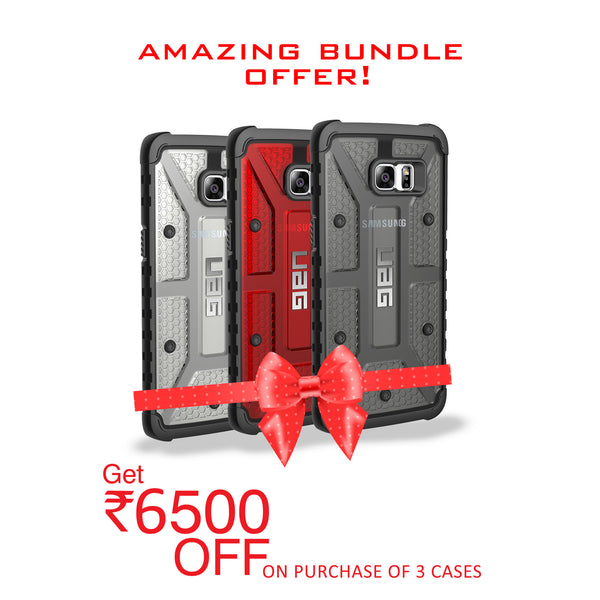 UAG for Samsung Galaxy S6 Edge Plus - Ice , Red and Ash