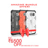 UAG for Samsung Galaxy S6 - Ash, Orange and White