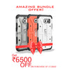 UAG for Samsung Galaxy S6 - Ice, Orange and White