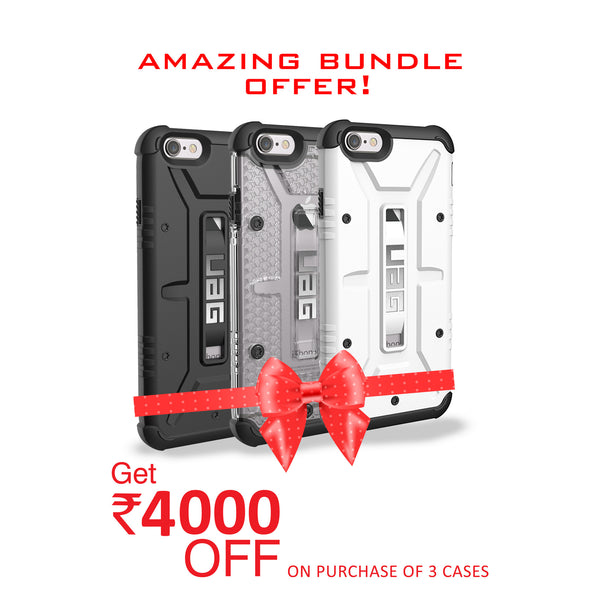 UAG for iPhone 6/6s - Black, Ice and White