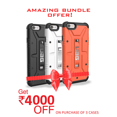 UAG for iPhone 6 Plus/6s Plus - Black, White and Orange