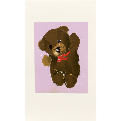 Billy Bear Purple