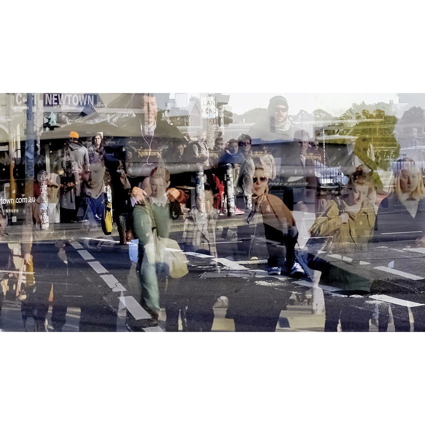 Walking in the City: Pedestrian Crossing [NOT FOR SALE]