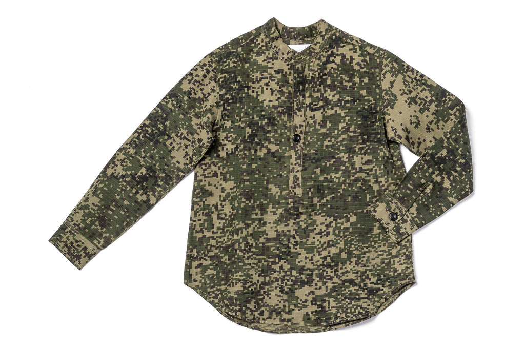 Pixilated Camouflage Shirt