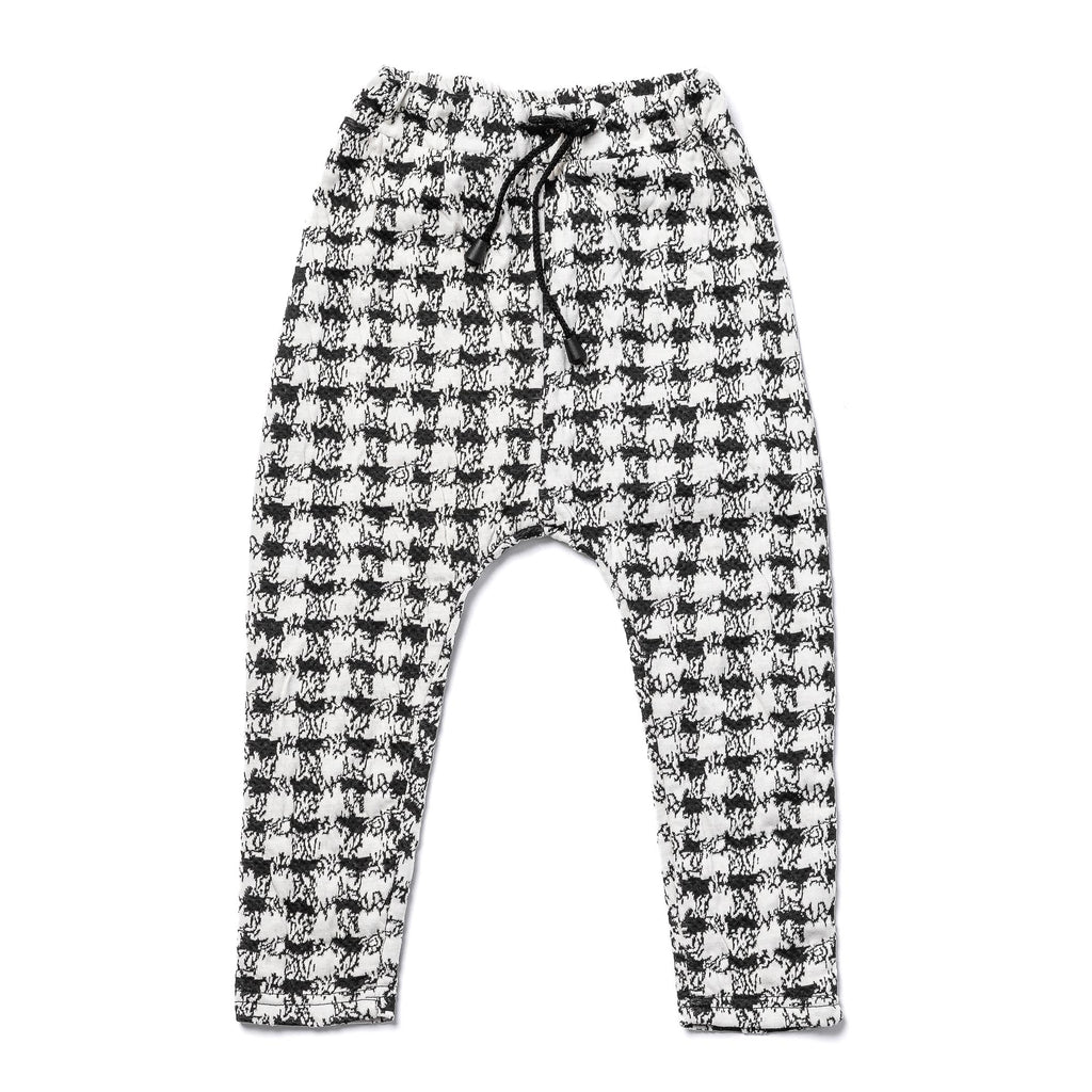 Monochrome Harem Pants