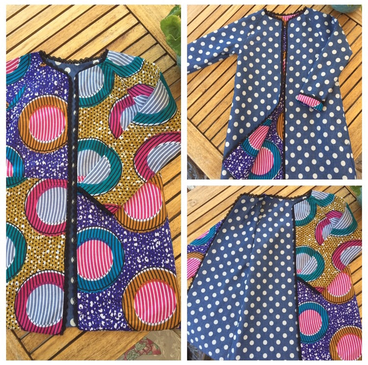 Dot-Fest Reversible coat