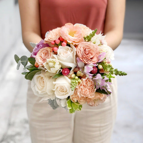 bridal bouquet wedding flowers | BYDEAU | Hong Kong